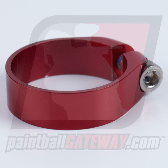 Check It/CCM Feed Neck Collar Assembly - Polished Red - (#3S14)