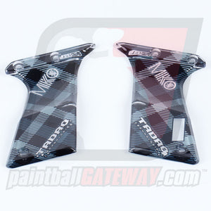 Tadao Dye/Proto Ultralite Trigger Frame OLED Acrylic Grip Panels - Plaid Design - (#CL20-03)