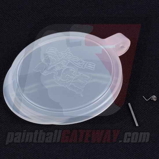Extreme Rage Multi Caliber Hopper Lid Kit - Clear - (#3F8)
