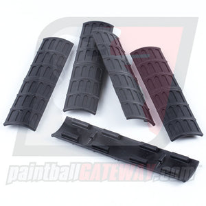 "Trinity Picatinny Rail Covers 6"" (5 Pack) - Black - (#3F10)"