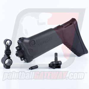Tippmann X7/Phenom Assault Stock and Sight Kit - Black - (#T32)