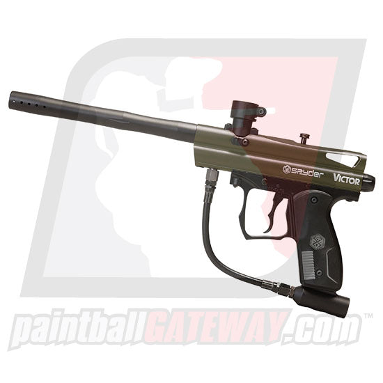 Kingman Spyder Victor Paintball Gun - Olive Green