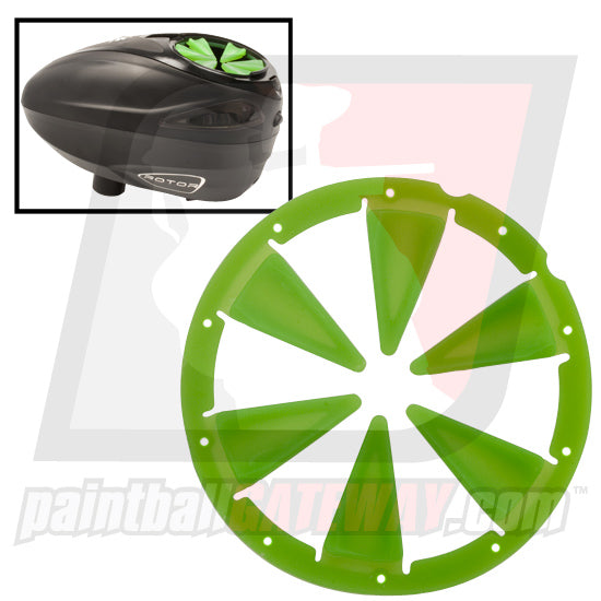 Exalt Dye Rotor Loader Speed Feed Lid - Lime - (#3K7)