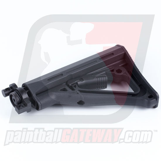 Empire BT Tippmann A5 Adjustable Car Stock (TM-15 Style) - Black - (#U18)