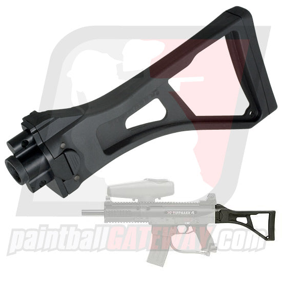 Tippmann X7/Phenom Folding Stock - Black - (#P12)