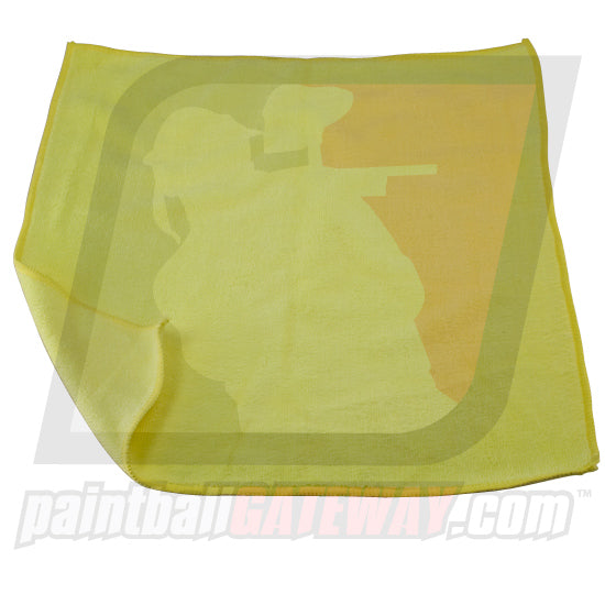 Paintball Ultra Soft Microfiber Lens Cloth - Yellow - (#T2)