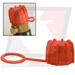 Rufus Dawg Rubber Tank Thread Protector Cap - Red - (#3M14)