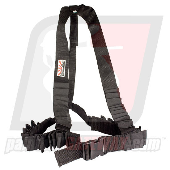Ronin Gear Stock Class (Shoulder) Deluxe Harness - Black - (#Q39)