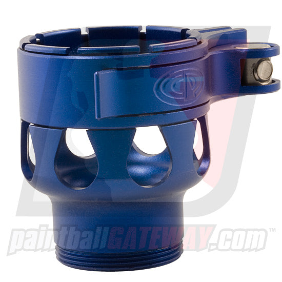 CP Custom Products Empire AXE/MINI Clamping Feed Neck - Dust Blue - (#3O42)