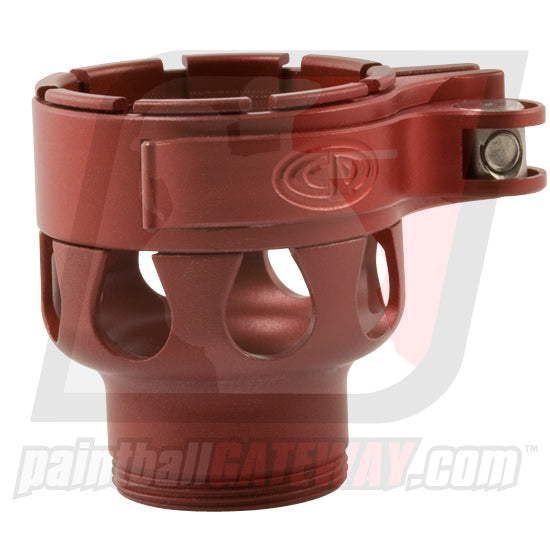 CP Custom Products Empire AXE/MINI Clamping Feed Neck - Dust Red - (#3O42)