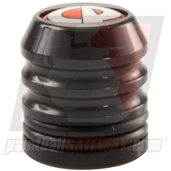 CP Custom Products Compressed Air Tank Fill Nipple Aluminum Dust Cover Cap - Black - (#3S26)