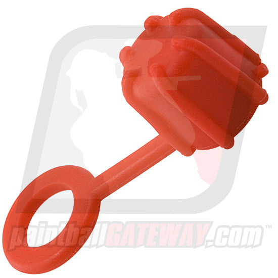 Rufus Dawg Compressed Air Tank Rubber Fill Nipple Cover - Red - (#P32)