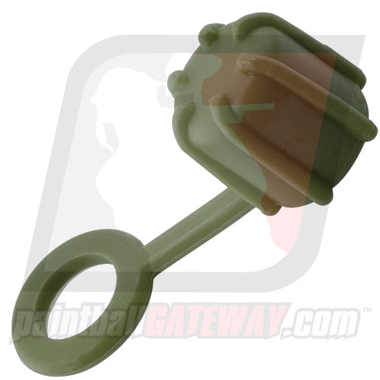 Rufus Dawg Compressed Air Tank Rubber Fill Nipple Cover - Olive - (#P32)