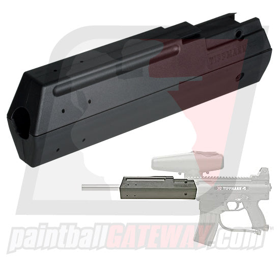 Tippmann X7/Phenom G36 Barrel Shroud - Black - (#T23)