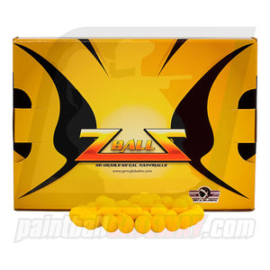 GXG Z Balls Reusable Practice Reball Paintball (68 Cal.) 500 Count - Yellow - (#Q17)