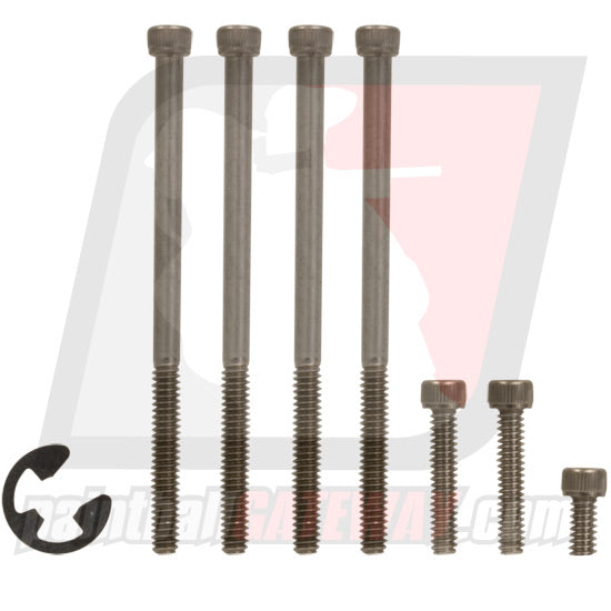 Empire Halo Loader Socket Head Screw Kit (7 Piece) - Stainless - (#3K8)