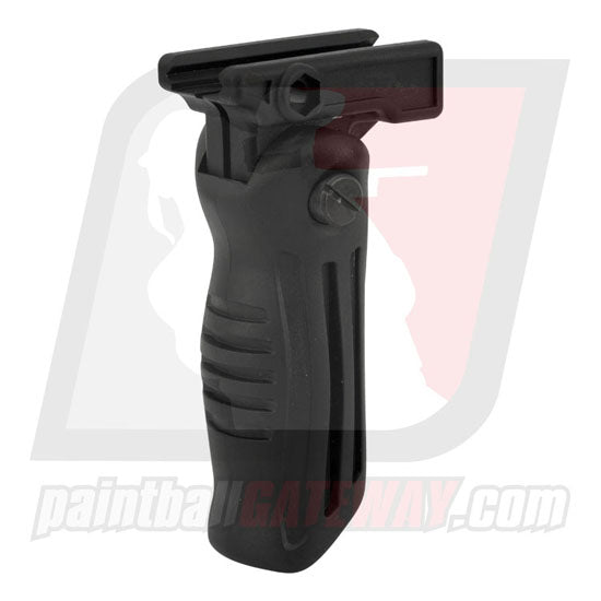 Tippmann Folding Vertical Handle Foregrip (5 Position) - Black - (#3D37)