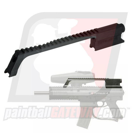 Tippmann X7/X7 Phenom G36 Carry Handle/Rail - Black - (#T23)