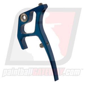 CP Custom Products Dye Ultralite Frame Sling Trigger - Polished Blue - (#CL29-02)