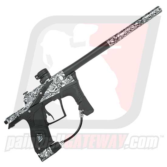 Planet Eclipse ETEK 5 Paintball Gun - Stretch White ** Free OLED Board **