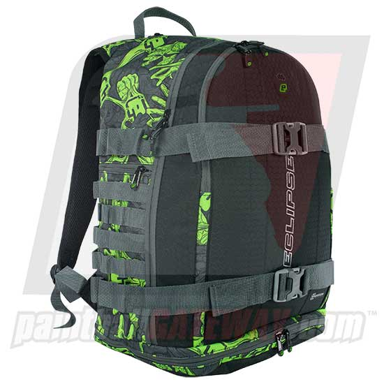 Planet Eclipse GX Gravel Bag Backpack - Stretch Poison - (#F5)