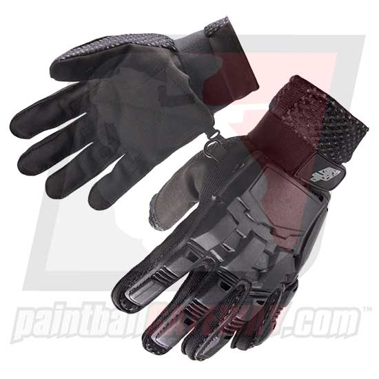 Planet Eclipse ProToyz Full Finger Glove (Turtle Style) - Black Large