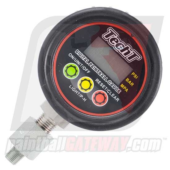 TechT Optimus High Pressure Digital Gauge Pressure Tester (0-5000psi) - (#3P43)