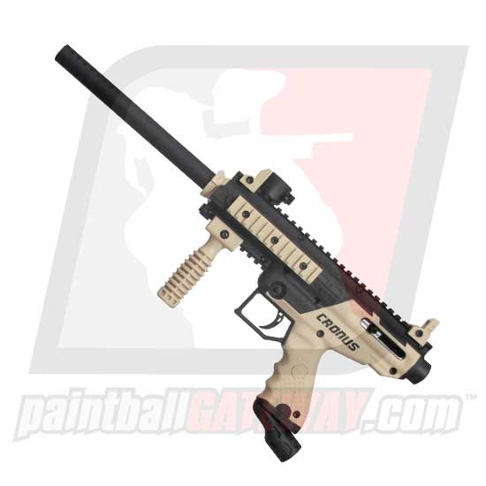 Tippmann Cronus Basic Paintball Gun - Black/Tan