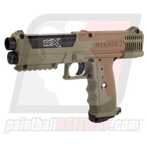 Tippmann TiPX Pistol Paintball Gun - Dark Earth