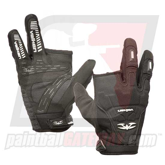 Valken Impact 2 Finger Gloves - Black