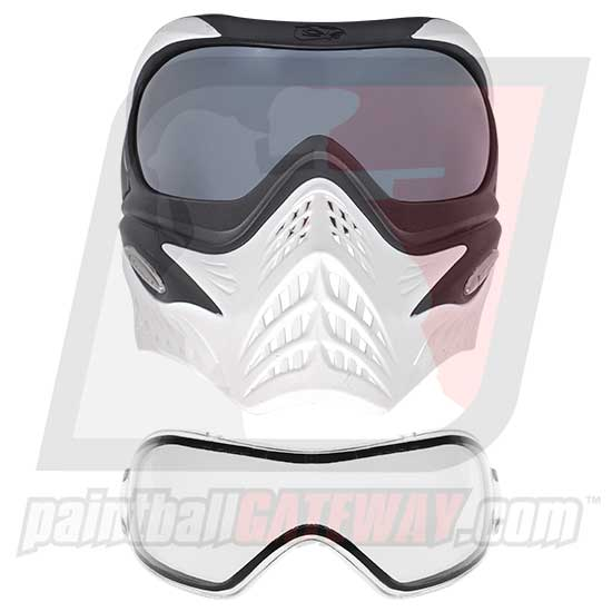 VForce Grill Goggle/Mask - White w/Extra Silver Mirror Lens