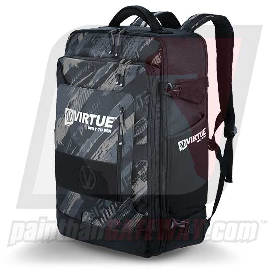 Virtue Gambler Backpack & Gear Bag - Graphic Black - (#F3)
