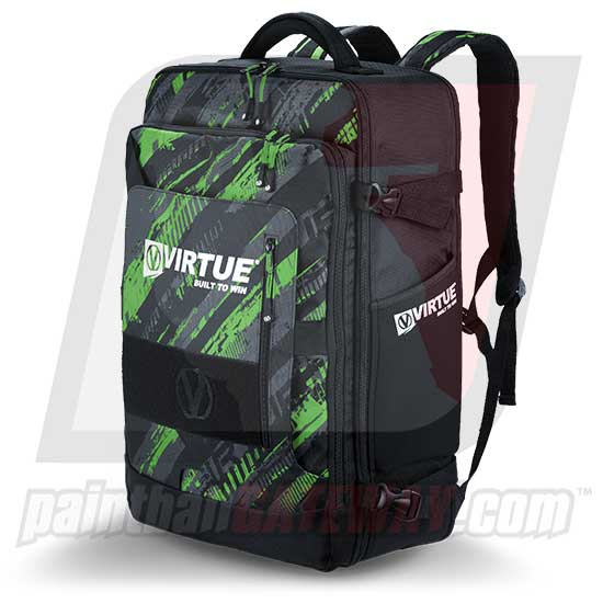 Virtue Gambler Backpack & Gear Bag - Graphic Lime - (#F2)