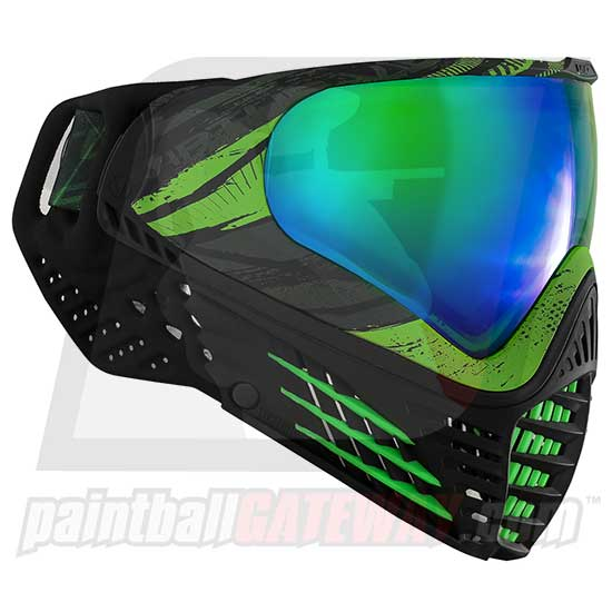Virtue VIO Contour Thermal Goggle/Mask - Graphic Emerald