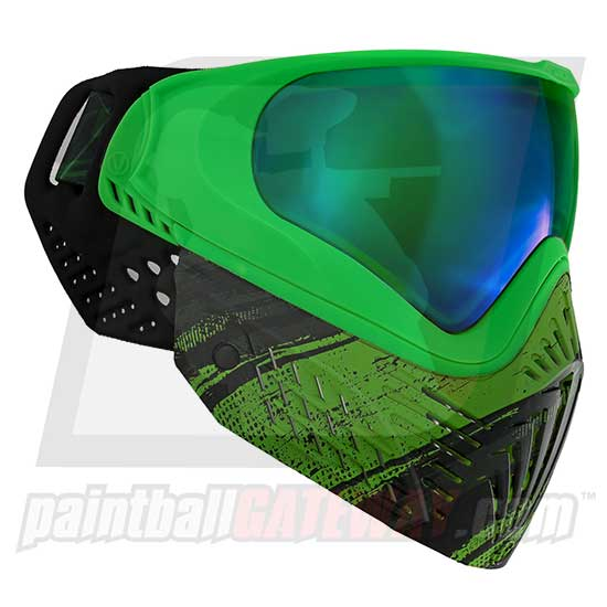 Virtue VIO Extend Thermal Goggle/Mask - Graphic Emerald