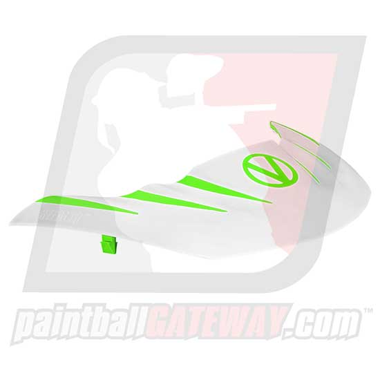 Virtue VIO Stealth Visor - Lime/White - (#R15)