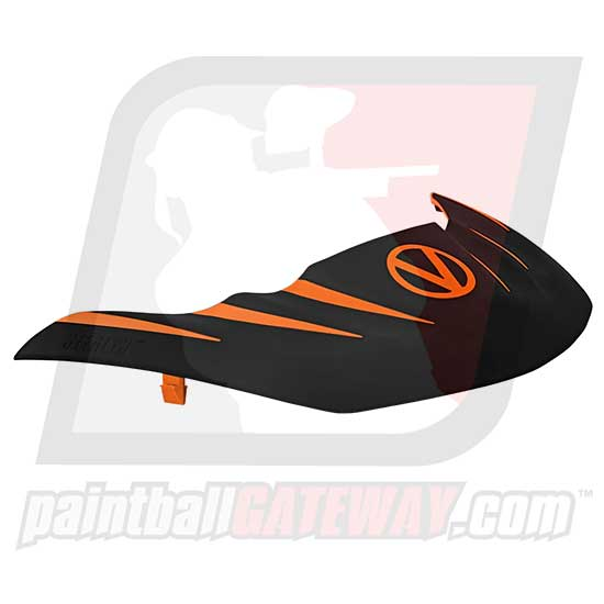 Virtue VIO Stealth Visor - Orange/Black - (#R15)