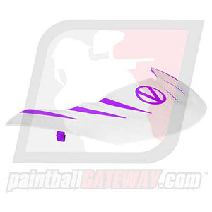 Virtue VIO Stealth Visor - Purple/White - (#R15)