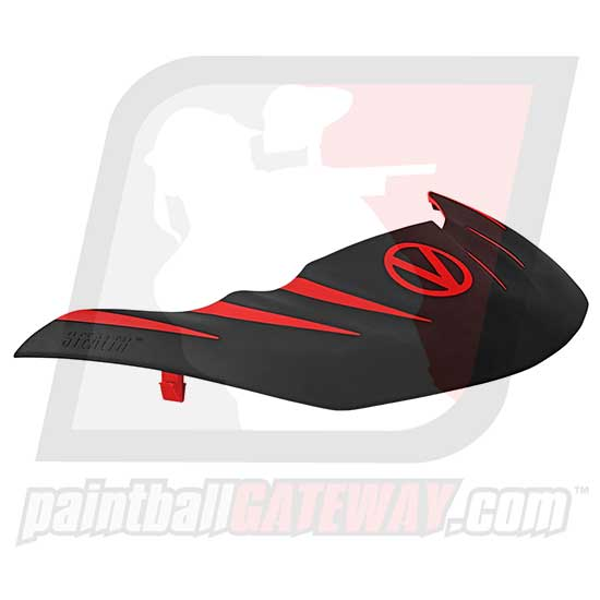 Virtue VIO Stealth Visor - Red/Black - (#R15)