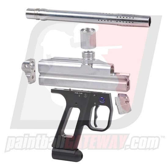 WGP UniBody Autococker Body Kit w/ Barrel & Trigger Frame - Raw - (#T35)