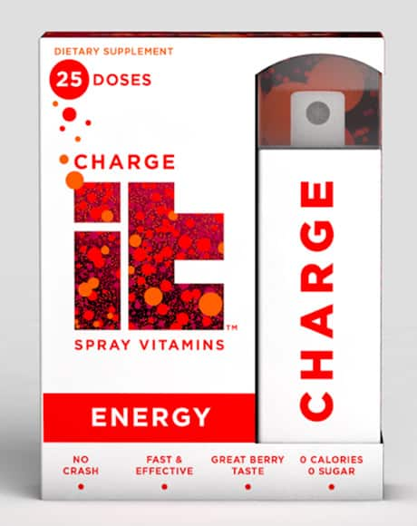CHARGEit Energy Spray 6 pack