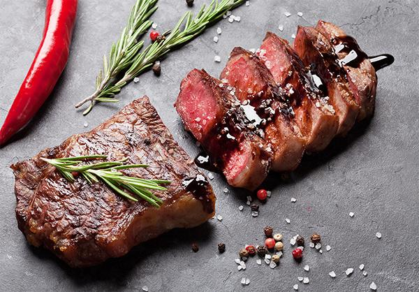 Simple Grilled Balsamic Steak