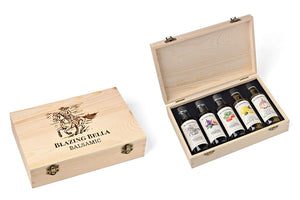 Blazing Bella Balsamic and Olive Oil Gift Set - Classic Chef's Gift Set