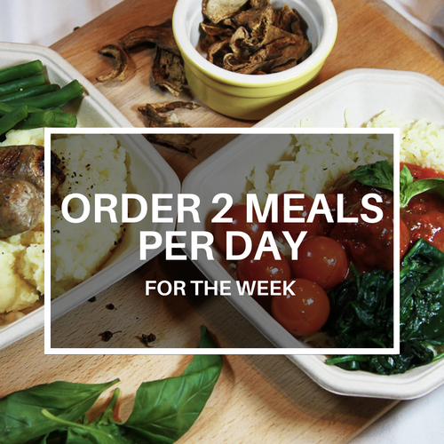 2 Meals Per Day (Weekly Plan)
