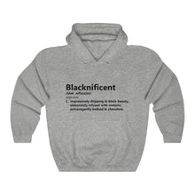 Load image into Gallery viewer, Blacknificant Hoodie - Unisex Heavy Blend™ Hooded Sweatshirt