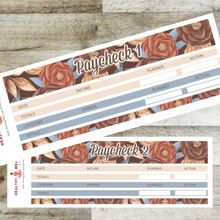 Load image into Gallery viewer, Paycheck Budget Stickers - September - Erin Condren Planner Monthly Kit 2020 2021 - Healthy Wealthy Skinny