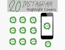 Load image into Gallery viewer, St. Patrick's Icon Instagram Story Highlight Covers - Healthy Wealthy Skinny