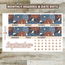Load image into Gallery viewer, September Monthly Planner Stickers Kit - Erin Condren Planner Monthly Kit