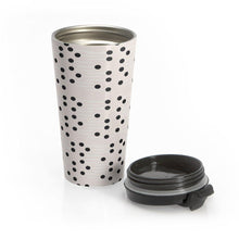 Load image into Gallery viewer, HWS Polka Stainless Steel Travel Mug