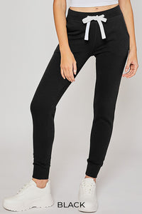 Fleece Sweatpants Jogger With Pockets